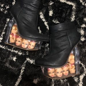 SUPER RARE Jeffrey Campbell Icy Doll